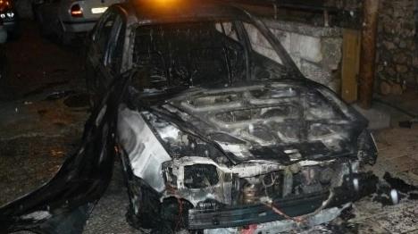 הרכב שהוצת בסילוואן הלילה (כבאות והצלה ירושלים)