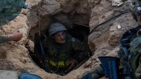 מפקד גדוד בגולני נפצע בקריסת מנהרה