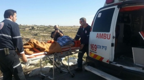 אלימות שוטרים: ילד נפצע בהרס בגל