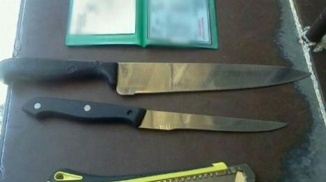 ערבי חמוש בסכין ביקש להיעצר