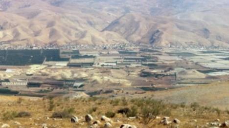 המנהל האזרחי בונה עיר ערבית בבקעה
