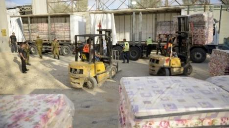 חמאס ניצל את העברת הסחורות לרצועה