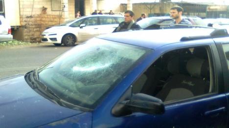חשד: קטינים ערבים הזיקו לרכבי יהודים