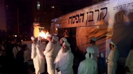 שבוע הבא: מתרגלים קרבן פסח בירושלים
