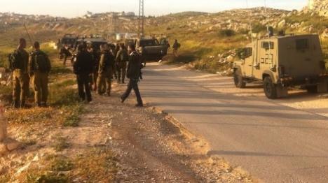 חשש לחטיפה באזור חברון
