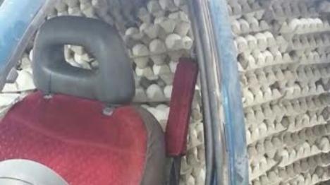 ערבי מהצפון ניסה להבריח 12,000 ביצים