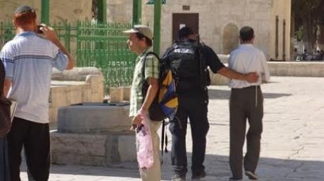 שני יהודים נעצרו היום בהר הבית