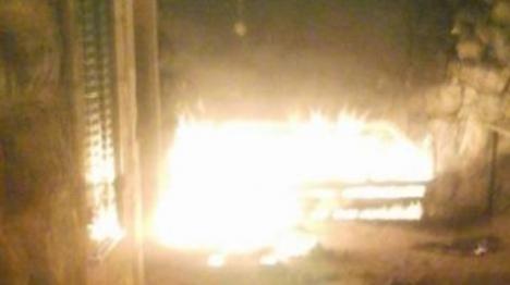 דיווח: בקבוק תבערה לעבר בית ערבי