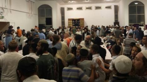 מאות חגגו את החזרה לישיבה ביצהר