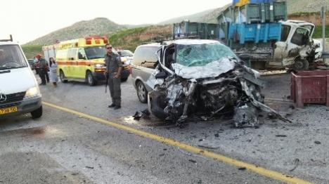 """תאונות הדרכים: """"לערבים יש חלק גדול"""""""