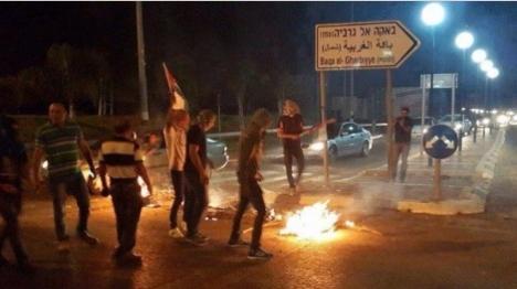 ערבים תקפו נהגים יהודים בשרון