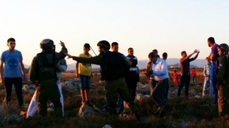 אש קודש: התושבים הפגינו - ערבים התפרעו