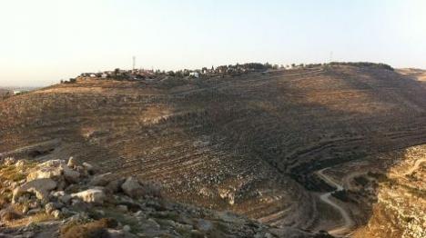 ערבי חדר לישוב בהר חברון