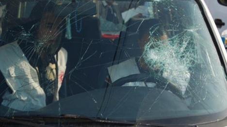 שומרון: נוסעת יהודיה נפצעה מאבנים