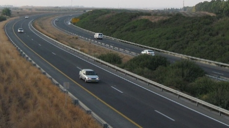 כביש 6 צפון: ערבים יידו אבנים