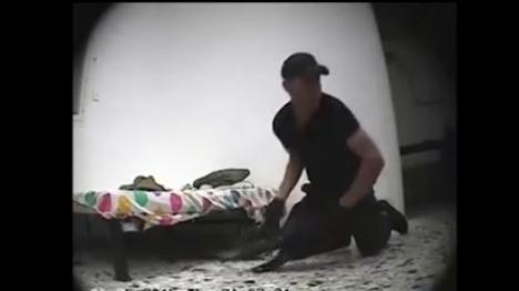 צפו: מארב משטרתי לגנבי כלי נשק
