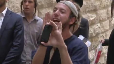 קרא 'מוחמד חזיר' ונעצר