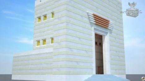 צפו: כך יראה המקדש בירושלים