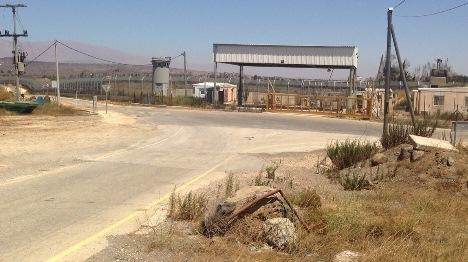 גבול סוריה. ארכיון (שלמה מור)