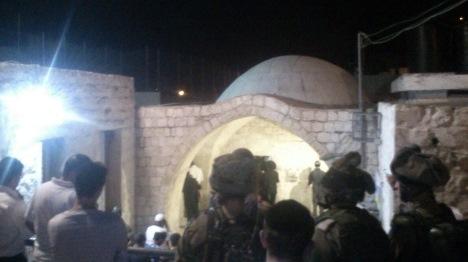 התפרעויות בקבר יוסף