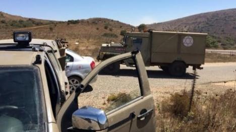 """""""הזליגות מסוריה"""": חייל צה""""ל נפצע"""