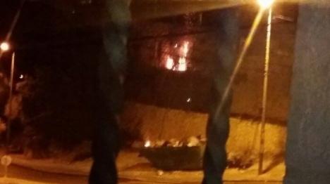 ערבים ניסו לשרוף בית מגורים בירושלים
