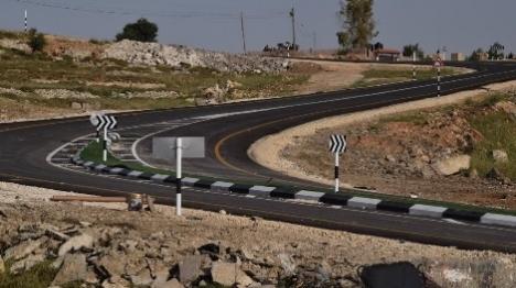 """צה""""ל פתח בשנית את כביש ביתין"""