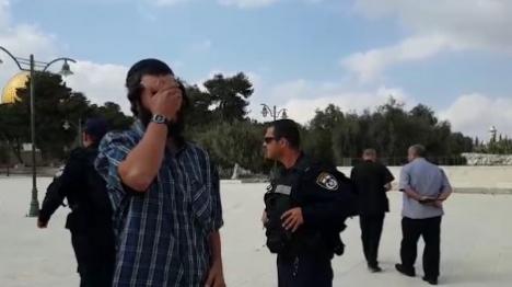 קריאת 'שמע ישראל' בהר הבית. ארכיון. למצולם אין כל קשר לכתבה (צילום מסך)