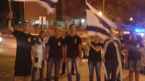 """אילת: """"השוטרים אמרו שפרובוקטיבי להניף דגל ישראל"""""""
