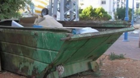 החשוד הערבי נתפס פצוע בפח האשפה