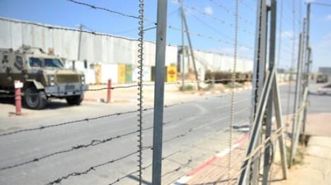פיגוע ירי  על גדר רצועת עזה