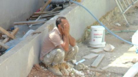 פועל ערבי בירושלים (יהודה פרל) צילום: יהודה פרל