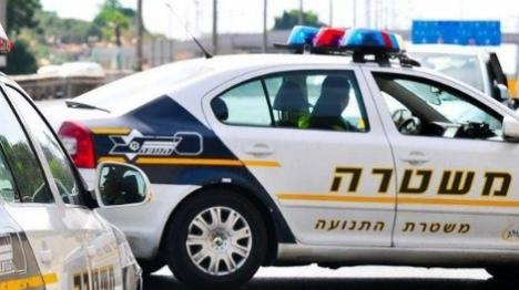 מחסום (צילום ארכיון משטרת ישראל) ארכיון. דוברות המשטרה