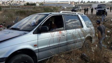 """מבריח שב""""חים נורה במחסום אייל (הצלה יו""""ש)"""