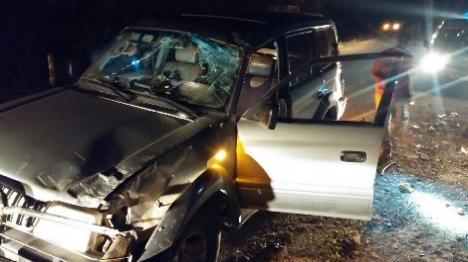 ערבי התנגש במכוון ברכב ופצע הנהג