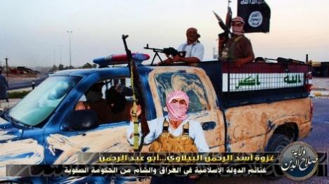 ארגון הטרור הרצחני דאעש (צילום מסך מהטוויטר)