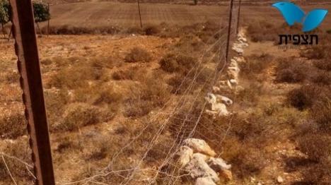 בזמן האימונים - ערבים חתכו את הגדר
