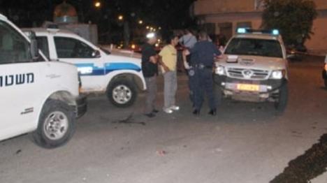 משטרות בכפר ערבי (ארכיון)
