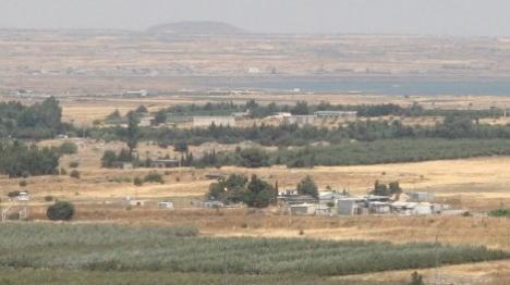 שוב: תושבי רמת הגולן ירדו למקלטים