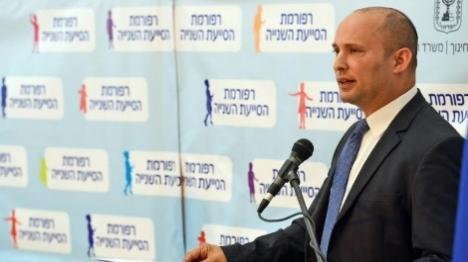 בנט נגד ישראלים מכפישים