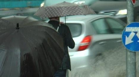 הגשם מחליף את האובך