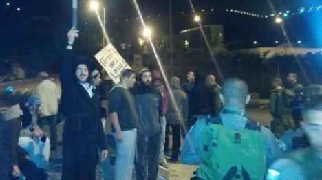 """הפגנה בשומרון: """"בואו ננצח"""""""
