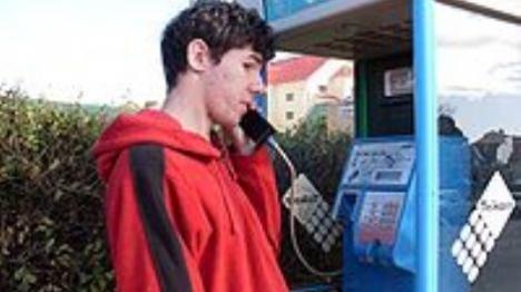 טלפון ציבורי, אילוסטרציה