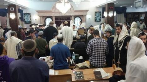 הסכם פשרה בנוגע להרס בית הכנסת