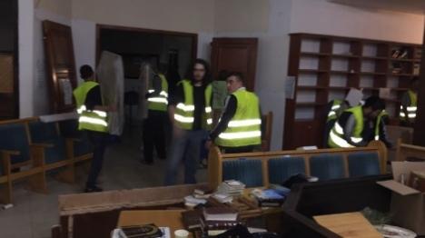 החל הרס בית הכנסת בגבעת זאב