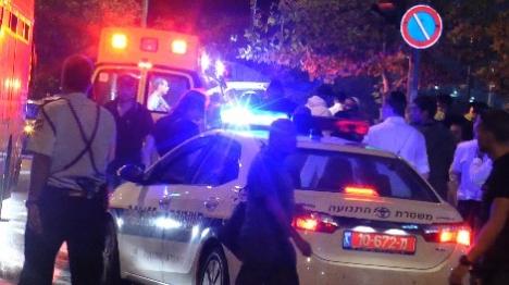 שוטר נפצע בפיגוע דריסה באבו דיס