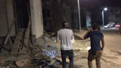 המחבל: פועל בניין ערבי שהועסק בעיר