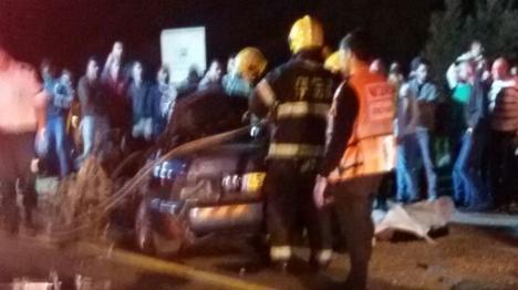 חשד: פרצו, הציתו, נמלטו ונהרגו בתאונה