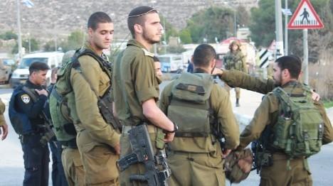 הפרדה בין יהודים לערבים בכניסה לרמי לוי