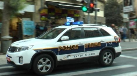 ניידת משטרה. ארכיון (יהודה פרל) צילום: יהודה פרל